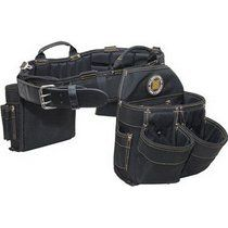 Rack-A-Tiers 43243 Electrician's Combo Belt & Bags - Large, 35-39