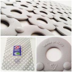 Sink Mat - Grey 31m x 42cm Italian Quality Drainer Non Slip Protector FREE P&P