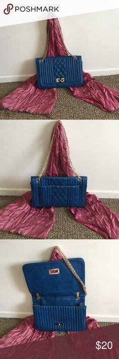 Blue hobo Handbag 👜 Good condition gently used no name Bags Hobos
