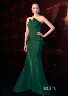 Taiwanese star Pace Wu in Resort 13 collection at a Johnnie Walker House event in Beijing, China
