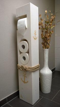 toilettenpapierhalter von mit herz und holz auf bad pinterest badezimmer. Black Bedroom Furniture Sets. Home Design Ideas