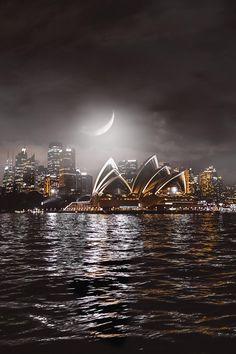 Black Coffee and .... Brown Sugar — banshy: Sydney Opera House by Jason Fenmore