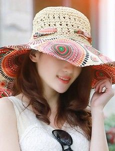 Fashion Summer Beach Hand-woven Hat For Only:NZ$25.55  https://www.wowrox.com/auctions/clothing-shoes-accessories/fashion-summer-beachtravel-hollow-hand-woven-hat-05074435/