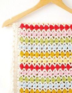 2014 Knitting & Crochet Ideas - Baby Blanket Crochet Pattern Beatrice PDF