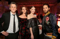 Lana del Rey, Jaime King and Jared Leto at the pre-Oscar party!!