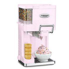 Soft Serve Ice Cream Maker Pnk | Home Living | SkyMall