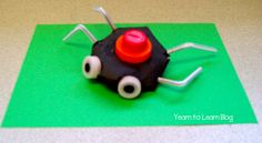 Litter Bug Craft #ArtsAndCrafts #KidsCrafts #Crafts #DIY #LitterBugs #EarthDay #Recycle