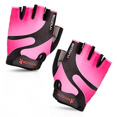 Maso Cycling Gloves with Shock-absorbing Foam Pad Breathable Half Finger Bicycle Riding Gloves Bike Gloves B-001 (Pink, Medium) - http://cyclingclothingforwomen.shopping-craze.com/index.php/2016/05/01/maso-cycling-gloves-with-shock-absorbing-foam-pad-breathable-half-finger-bicycle-riding-gloves-bike-gloves-b-001-pink-medium/