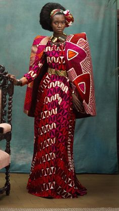 New latest african fashion look African Inspired Fashion, African Print Fashion, Africa Fashion, Ethnic Fashion, Fashion Prints, Fashion Design, Ankara Fashion, African Prints, African Attire