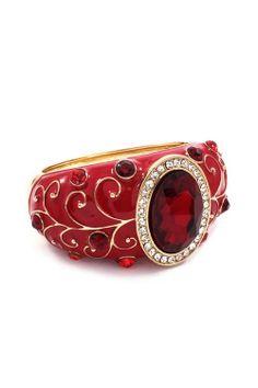 Ruby red bangle