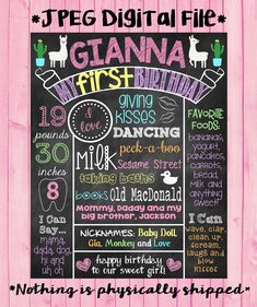 Glitter First Birthday Chalkboard Poster Sign Gold Glitter Pink Glitter Purple Glitter First Birthday Poster Girl or Boy You Pick Colors! Glitter First Birthday, Polka Dot Birthday, First Birthday Posters, First Birthday Chalkboard, Chalkboard Poster, Chalk It Up, Gold Polka Dots, Purple Glitter, Glitter Hair