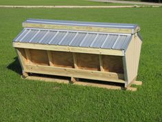 goat shelters | Covered Hay Feeder Goat http://www.portablelivestockshelters.com ...