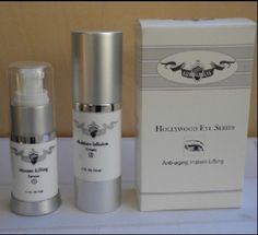 Hollywood Eye Series Anti-aging Lnstant Lifting Set by Hollywood. $26.99. This powerful formula is a new approach to anti-aging delivers a two phase facial rejuvenation system designed to smooth, fill, lift and improve the appearance of facial lines and wrinkles instantly. Contains concentrated active Multi-Peptides (12 %) for long term benefits.  oTightens and lifts the skin until washed off.  oMicro-Tensing Serum contains and Amino Acid Complex to promote the appearance ...