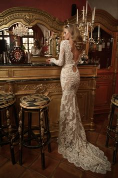 20ad93ce8c Netta BenShabu - F W 2016 Collection - WedLuxe Magazine. Long Wedding  DressesPakistani ...