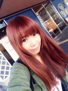 成瀬瑛美 Naruse Eimi - Dempagumi.inc / でんぱ組.inc - cute smile and long, red hair