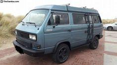 Photo Vw T3 Syncro, T3 Vw, Volkswagen, Vw T3 Camper, Transporter T3, Cool Campers, Vw Vans, Van Life, Diesel