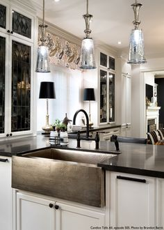 Give a rich look to your kitchen with our Mandalay collection!