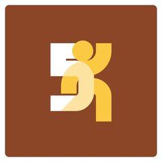 5k Marathon logo #thicklines by http://ift.tt/1EAvAw2