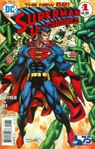 Superman Unchained No.1 1:50 Neal Adams Bronze Age 75th Anniversary Variant West Point Toy & Hobby at Amazon #Superman