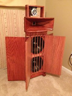 Wood Sounds Good!...3Way Hornsystem,very nice work!