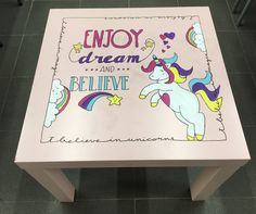 Unicorn table
