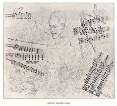 Zasche-Theo Gustav-Mahler-1906 - Gustav Mahler – Wikipedia
