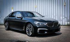 BMW M760Li looks stunning in Frozen Black - http://www.bmwblog.com/2017/06/08/bmw-m760li-looks-stunning-frozen-black/