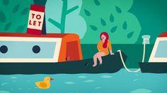 Kleiner feiner illustrierter Spot für ein Immobilienportal / PAGE online