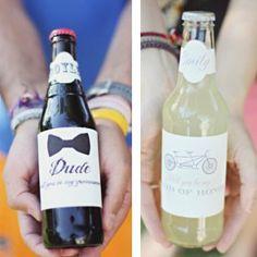 Invitation Bottle Free Wedding Printables | AllFreeDIYWeddings.com