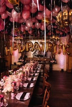 Patrick Ta Teases His New Makeup Line at His Private Birthday Bash Vogue 25th Birthday Parties, Birthday Goals, Adult Birthday Party, Birthday Dinners, Birthday Woman, Birthday Party Themes, Ideas For 18th Birthday, 18th Birthday Decor, Elegant Birthday Party