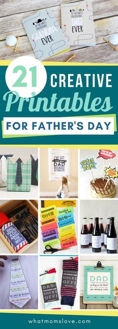 Nov 2018 - Fantastic list of DIY Father's Day gift ideas for the special Dad or Grandpa in your life. Get your kids involved with these easy crafts, meaningful cards, free printables, fun food and more unique ideas to make this Father's Day extra special. Diy Father's Day Gifts, Great Father's Day Gifts, Diy Gifts For Kids, Father's Day Diy, Easy Diy Gifts, Diy Christmas Gifts, Gifts For Family, Homemade Gifts, Gifts For Dad
