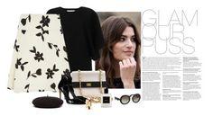 """Glamour Puss"" by katiethomas-2 ❤ liked on Polyvore featuring Lancôme, Valentino, Carolina Herrera, Chanel, Casadei, Yves Saint Laurent, Prada, women's clothing, women's fashion and women"