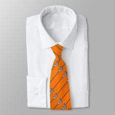 Shop lacrosse goalie neck tie created by lacrosseshop. Indigo Colour, Custom Ties, Orange Background, Unique Image, Suit And Tie, Lacrosse, Adulting, Shop Now, Blush