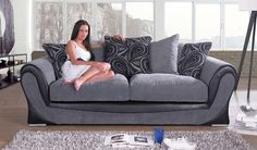 The Smile oozes ambience in any room with its perfect combination of comfort with pillow back support, luxurious plush fabric and accompanied stylish design. If you're looking for a classic model with a modern twist, the Smile is the fabric sofa for you. The stylish model benefits from large curvaceous arms and fitted with highly polished chrome finished feet that offer great support as well as contributing that modern feel to any room.