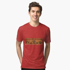 'A worn and weathered stone face of a man with a turban hat and beard.' Tri-blend T-Shirt by Design T Shirt, Shirt Designs, Tee Shirt Homme, Vintage T-shirts, My T Shirt, Nice Tops, Tshirt Colors, Female Models, Chiffon Tops