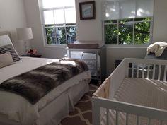 Like the color scheme here Baby Bedroom, Baby Room Decor, One Bedroom, Kids Bedroom, Bedroom Decor, Shared Baby Rooms, Baby Boy Rooms, Nursery Nook, Baby Corner