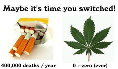 Quit smoking cigarette & use medical marijuana for better health. SCientific researches have proved that medical marijuana is less harmful as compared to cigerette. The medical cannabis usage is powerful in curing diseases like cancer, epilepsy, glaucoma and AIDS. Consult a reliable medical marijuana doctor for complete understanding on usage of weed.