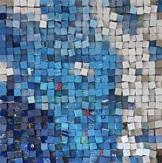 "Saatchi Art Artist Paola Bazz; Collage, ""looking up"" #art"