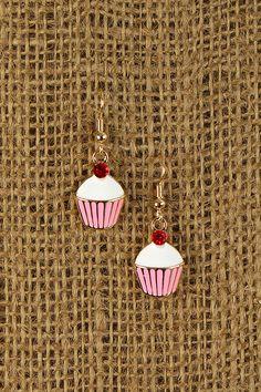 Sweet Cupcake Earrings