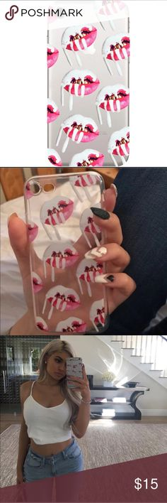 Kylie cellphone case Kylie Jenner iPhone 6 lip cellphone case Accessories Phone Cases