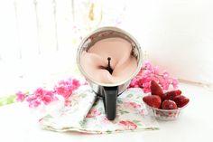 Espuma de fresas thermomix ( mejor congelada)