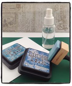 Kit and Clowder: Distress Inks - A Tutorial