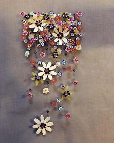 Flower sequins... Everywhere!!