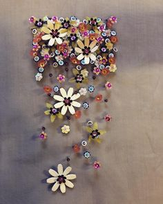Flower sequins... Everywhere!!