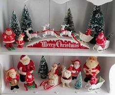 130 best Vintage Christmas Holiday Plastic images on Pinterest ...