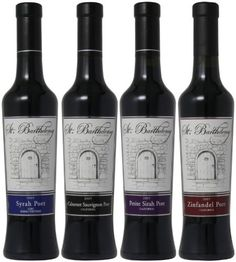 St Barthelemy Cellars Chocolate Lovers Port Mixed Pack 4 x 375 mL * You can find more details by visiting the image link.