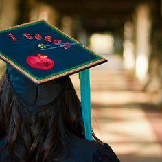 A #USF education student's grad cap!