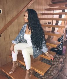 Find 40 Chic and Sexy Saweetie Outfits Summer Outfits, Casual Outfits, Cute Outfits, Fashion Outfits, Womens Fashion, Fashion Killa, Fashion Beauty, Baddie Outfits For School, Icy Girl