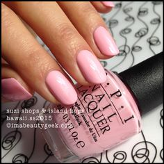 OPI Suzi Shops & Island Hops.  OPI Hawaii 2015. Swatches on click-thru ©imabeautygeek.com