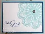 hello doily stampin up